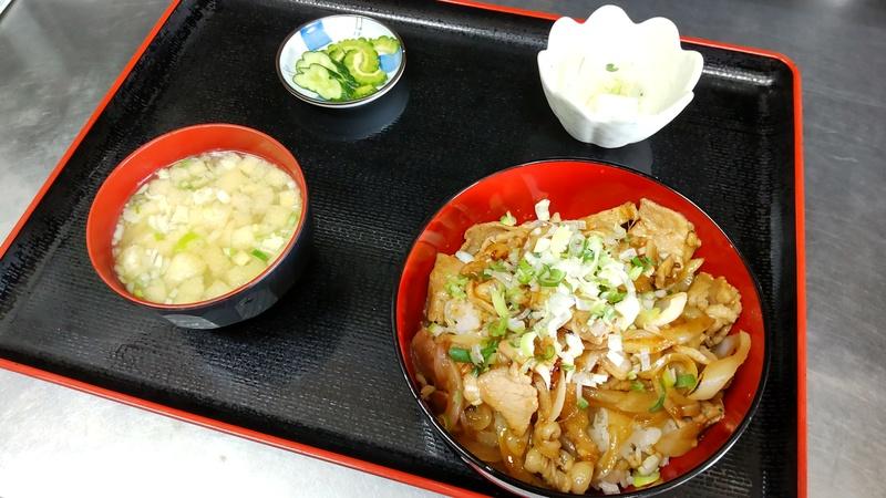 令和豚丼(690円)
