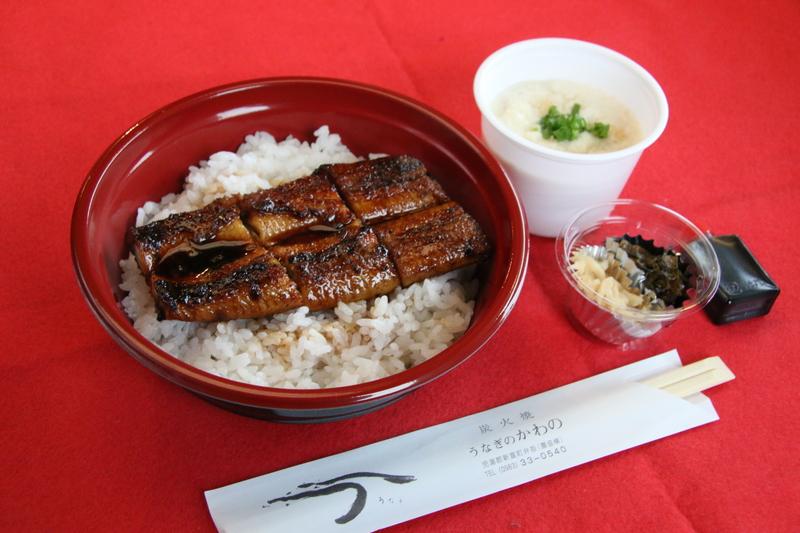 うなぎ丼弁当 (ご汁付き)