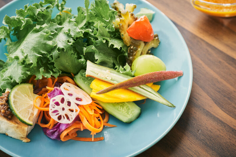 こゆ野菜サラダ