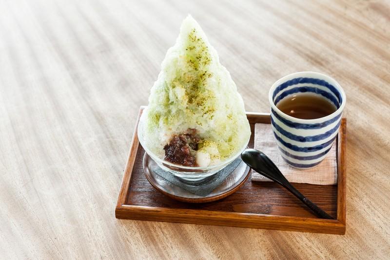 お茶の氷(680円)